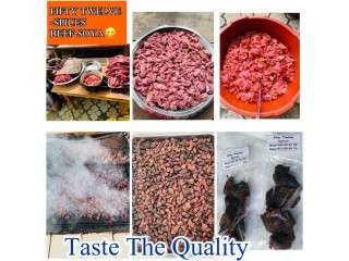 Trust the process very clean, delicious proceed meat
