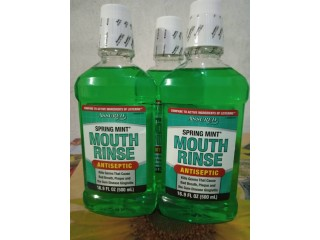Tooth paste and mouth wash
