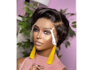 6 inch wig with frontal (perruque taille 6 avec la frontal )