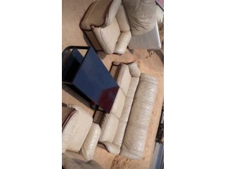 Quality imported leather chairs and sofas available for sale